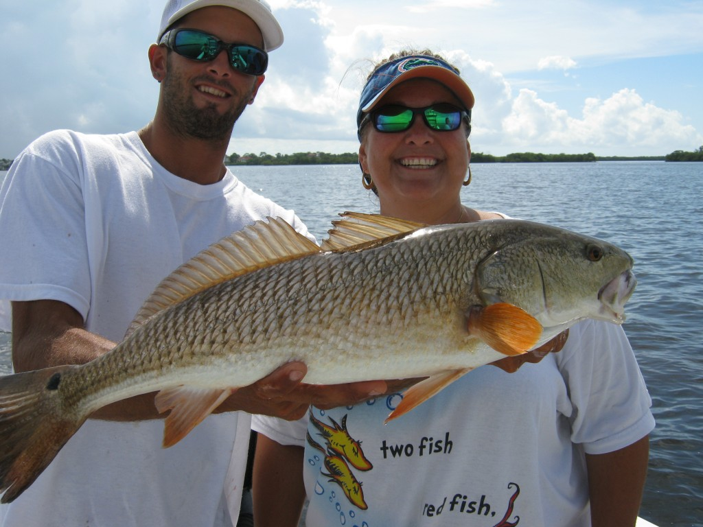 Flats Fishing Charters in Tarpon Springs FL