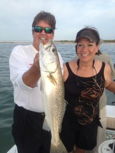 Trout Fishing Charters, Trout Fishing Guide,