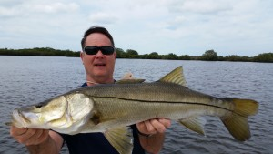 Vance with his first Snook of his life!