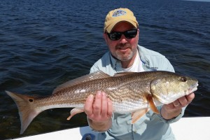 "Eugene with a 26.5"" Redfish!!"
