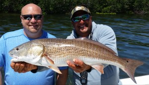 "Kenneth with a 34 1/2"" oversize Redfish!"